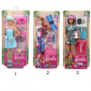 Barbie Wellness- Ημέρα Ομορφιάς (3 Σχέδια)