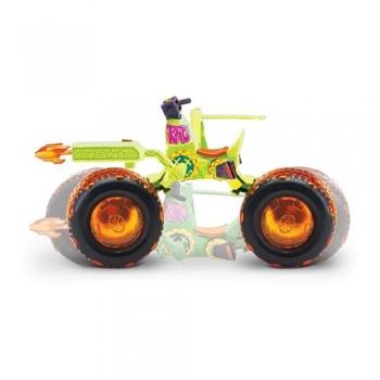 TMNT Όχημα Shell Hog + Φιγούρα Leo