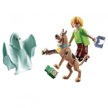 Playmobil Scooby-Doo Ο Σκούμπι Και Ο Σάγκι Με Ένα Φάντασμα