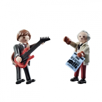 Playmobil  Back To The Future Μάρτι Μακ Φλάι Και Καθηγητής Έμετ Μπράουν