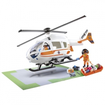 Playmobil Ελικόπτερο Διάσωσης