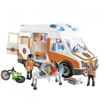 Playmobil Ασθενοφόρο Με Διασώστες