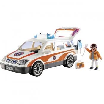 Playmobil Όχημα Πρώτων Βοηθειών