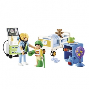 Playmobil Παιδικό Δωμάτιο Νοσηλείας