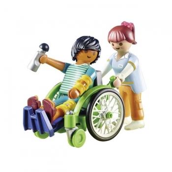 Playmobil Ασθενής Με Καροτσάκι