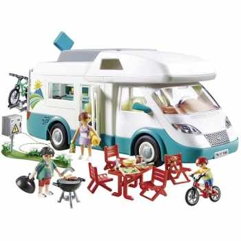Playmobil Αυτοκινούμενο Οικογενειακό Τροχόσπιτο