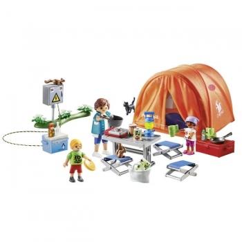 Playmobil Οικογενειακή Σκηνή Camping