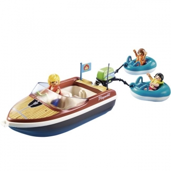 Playmobil Ταχύπλοο Σκάφος Με Φουσκωτές Κουλούρες