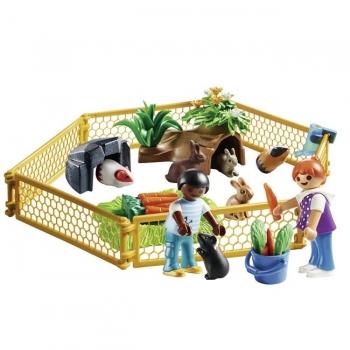 Playmobil Περιφραγμένος Χώρος Με Μικρά Ζωάκια