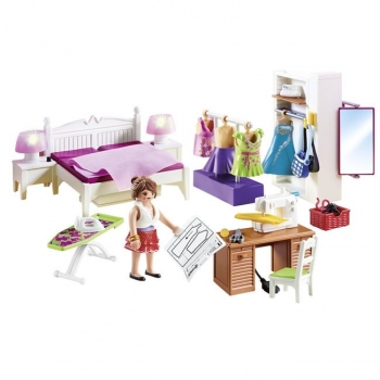 Playmobil Υπνοδωμάτιο Με Ατελιέ Ραπτικής
