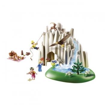 Playmobil Η Χάιντι, Ο Πίτερ Και Η Κλάρα Στην Κρυστάλλινη Λίμνη