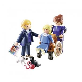 Playmobil  Η Κλάρα, Ο Πατέρας Της Και Η Δεσποινίς Ροτενμάιερ