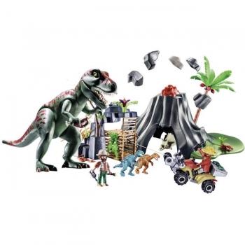 Playmobil Ηφαίστειο Με Δεινόσαυρους Και Εξερευνητές