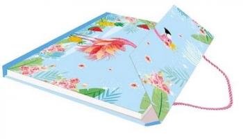 Ημερολόγιο Flamingo & Μαγνητικό Τσαντάκι 190x140
