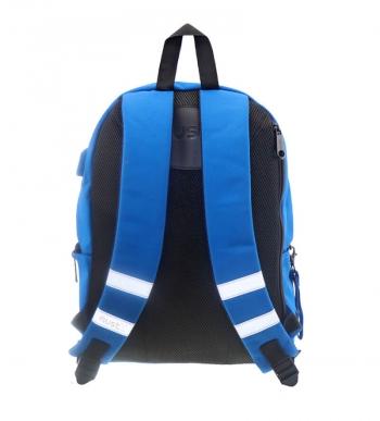 Σχολική Τσάντα - Σακίδιο Must Monochrome Μπλε