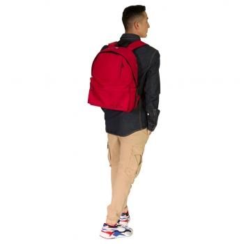 Σχολική Τσάντα - Σακίδιο Must Monochrome Κόκκινη