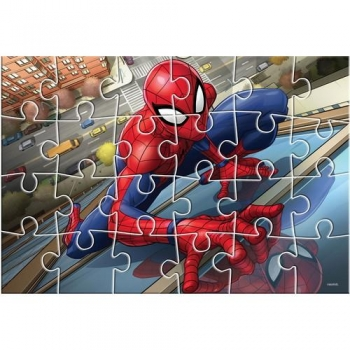 Παζλ Ζωγραφικής Spiderman 2 Όψεων 24 Tεμ. - 41x28