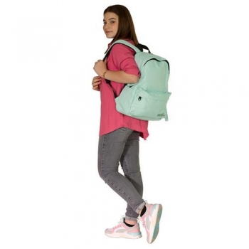 Σχολική Τσάντα - Σακίδιο Must Monochrome Θαλασσί Μπλε