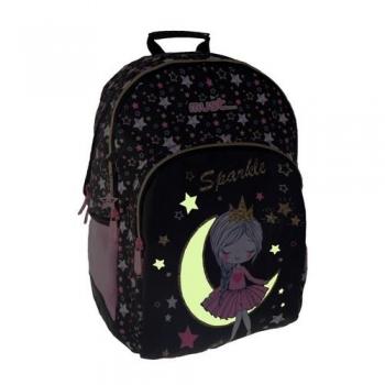 Σχολική Τσάντα Must Glow In The Dark Κορίτσι Φεγγαράκι