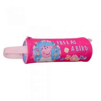 Σχολική Κασετίνα Βαρελάκι Peppa Pig George 20x6,5 4 Σχέδια