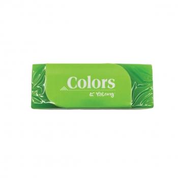 Γόμα Colors Yalong Μονόχρωμη 6x3 Ass 4