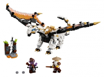Lego Ningago Wu\'s Battle Dragon
