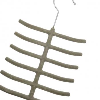 Κρεμάστρα Γραβάτας Βελουτέ 12 Θέσεων 26x16