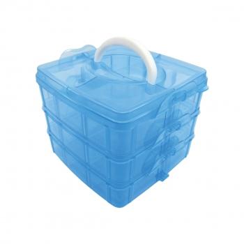 Κουτί Αποθήκευσης Πλαστικό 18 Θέσεων 15x16
