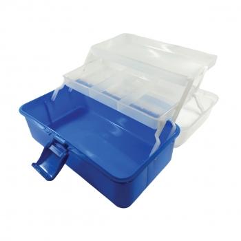 Κουτί Αποθήκευσης Πλαστικό 16x27x13 4 Θέσεων