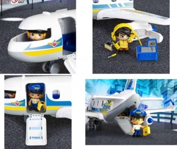 Pinypon Action Αεροπλάνο - Περιπέτεια Στον Αέρα