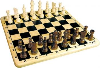 Επιτραπέζιο Ξύλινο Σκάκι
