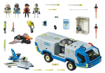 Playmobil Όχημα Galaxy Police