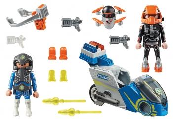 Playmobil Μοτοσικλέτα Galaxy Police