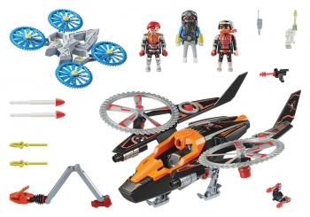Playmobil Ελικόπτερο Galaxy Pirates