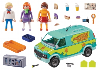 Playmobil Scooby-Doo Βαν Mystery Machine