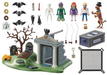 Playmobil Scooby-doo Περιπέτεια Στο Νεκροταφείο