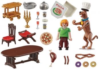 Playmobil Scooby-doo Δείπνο Με Τον Σάγκι