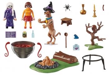 PLaymobil Scooby-doo Μάγισσα Με Μαγικό Καζάνι