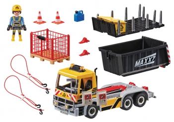 Playmobil City Action Φορτηγό Με Ανατρεπόμενη Καρότσα