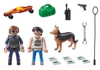 Playmobil City Action Κλέφτης και Αστυνόμος