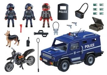 Playmobil City Action Αστυνομική Επιχείρηση Σύλληψης Ληστών