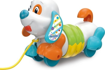 Clementoni Βρεφικό Παιχνίδι Charlie Pull Along Dog