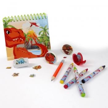 Σετ Ζωγραφικής Color Set Δεινόσαυροι