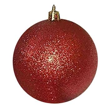 Μπάλα Glitter Πακέτο 6τεμ 6cm