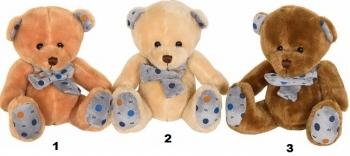 1997 Λούτρινο Αρκουδάκι 3 Χρώματα 15εκ