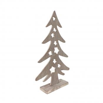 Χριστουγεννιάτικο Διακοσμητικό Ξύλινο Έλατο Xmas 21x40 εκ