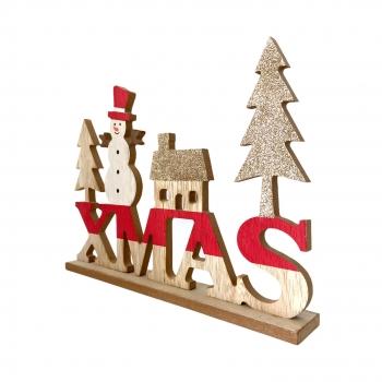 Χριστουγεννιάτικη Διακοσμητική Ταμπέλα Xmas  21x4x229,5 εκ