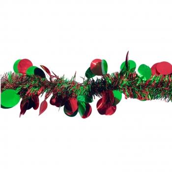Χριστουγεννιάτικη Τρέσα Μπάλες 3χρ 13 εκ x 2μ.