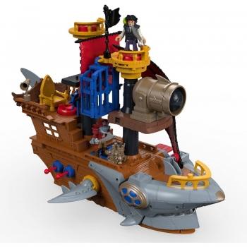 Fisher-Price Imaginext: Πειρατικό Καράβι - Καρχαρίας (DHH61)