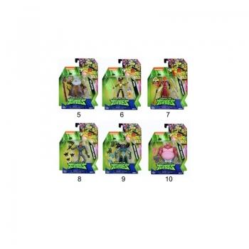 Teenage Mutant Ninja Turtles Χελωνονιντζάκια Φιγούρα Δράσης Wave 2 - 10 Σχέδια (TU202000)